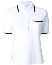 Thom Browne Tennis Collection Classic Pique Polo Shirt