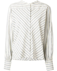 Isabel Marant Collarless Poplin Shirt