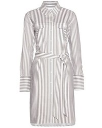 Equipment Delany Striped Shirt Dress