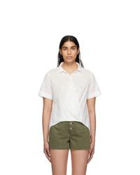 Rag and Bone White Stripe Kristine Shirt