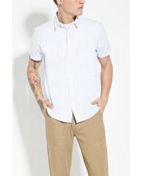 21men 21 Striped Cotton Shirt