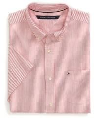 b3e1cf7ef ... Tommy Hilfiger Final Sale Classic Fit Short Sleeve Striped Oxford