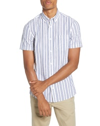 Fit Stripe Short Sleeve Shirt