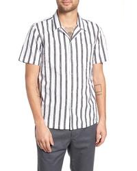 Tavik Gable Dobby Stripe Camp Shirt