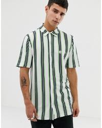 Le Breve Striped Short Sleeve Shirt