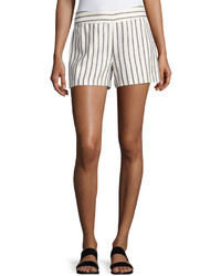 Back zip striped shorts medium 3776638