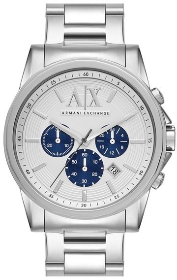 6d85bfe3081e ... Armani Exchange Ax Chronograph Bracelet Watch 45mm