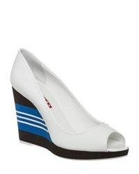 White wedge pumps original 9367643
