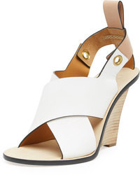 White wedge sandals original 1642029