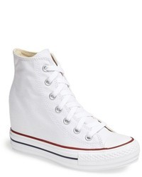 Converse Chuck Taylor All Star Hidden Wedge Platform High Top Sneaker