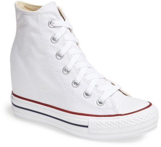 d32cd9e550b ... Sneakers Converse Chuck Taylor All Star Hidden Wedge Platform High Top  Sneaker ...