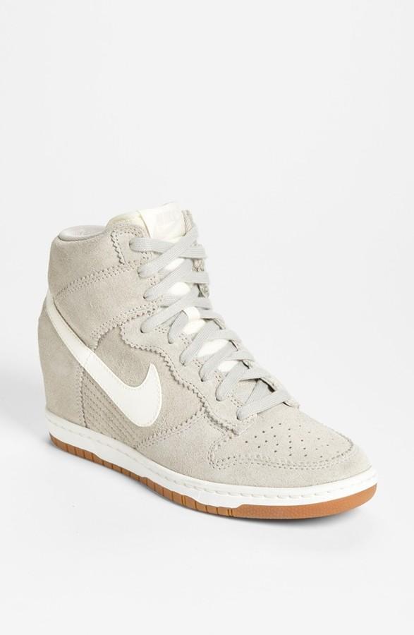 brand new 6e35f 0c362 ... Nike Dunk Sky Hi Wedge Sneaker ...