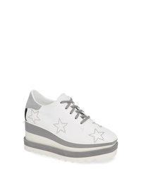 Stella McCartney Sneak Elyse Studded Wedge Sneaker