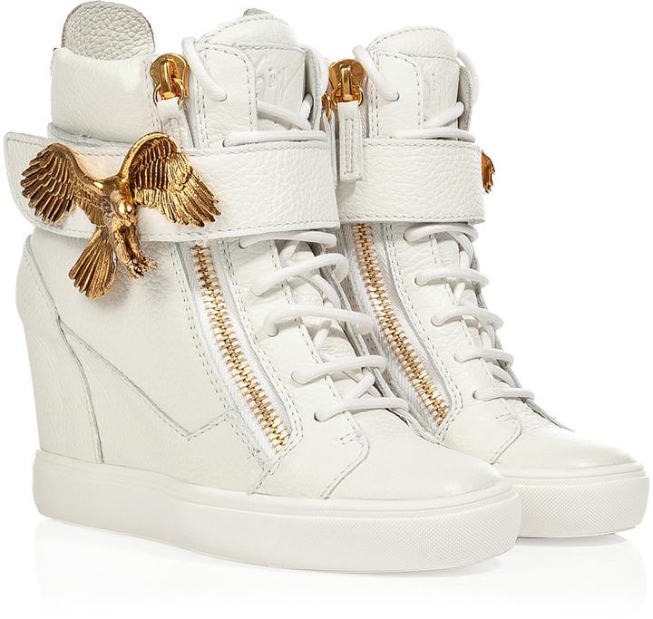 Giuseppe Zanotti Wedge Sneakers With