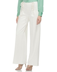 Vince Camuto Lace Up Wide Leg Trousers