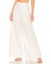 Zimmermann Lovelorn Wide Leg Trouser