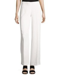 Penelope crepe wide leg pants medium 4156928