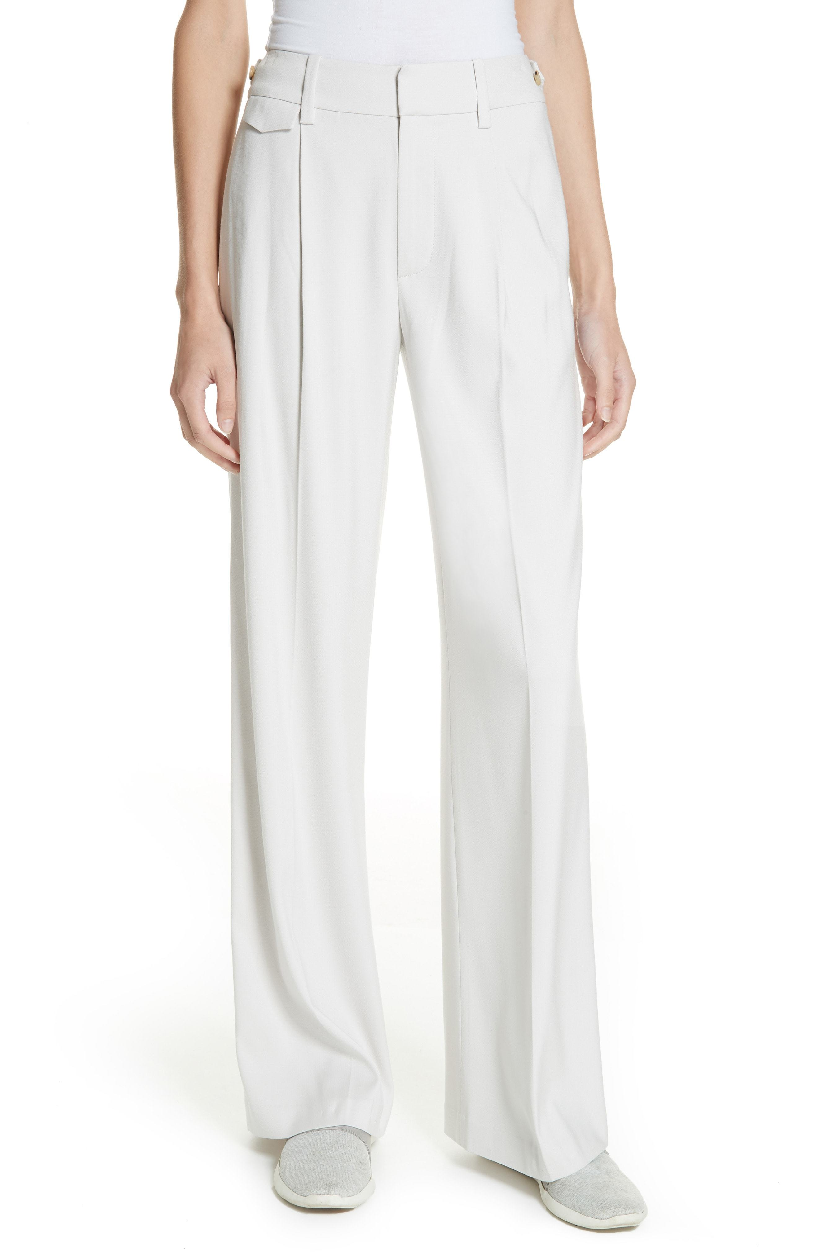 Vince Relaxed Wide Leg Trousers