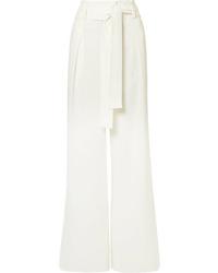Proenza Schouler Textured Crepe Pants