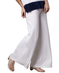 Wide leg palazzo knit pants medium 3729691