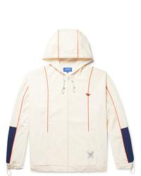MAISON KITSUNÉ Ader Error Oversized Colour Block Shell Hooded Jacket