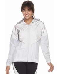 Fila sport fila sport reflective windbreaker jacket medium 6988606