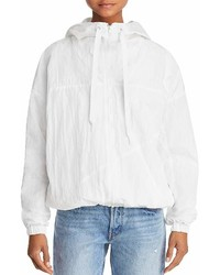 Kendall and kylie crinkled windbreaker jacket medium 6988601