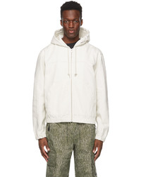 Stussy Off White Solid Work Jacket