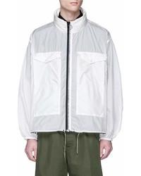 Oamc Stand Collar Windbreaker Jacket