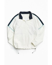 Urban Outfitters Uo Mixed Fabric Crinkly Windbreaker Jacket