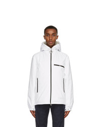 Moncler White Down Loupiac Jacket