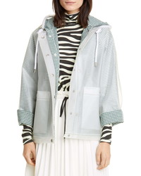 Proenza Schouler White Label Address Short Raincoat With Removable Liner