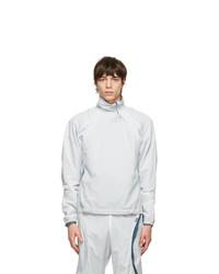 Saul Nash White Shape Shifter Pullover Sweatshirt
