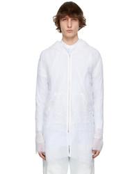 Maison Margiela White Silk Organza Jacket