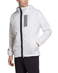 adidas Wnd Water Repellent Hooded Jacket