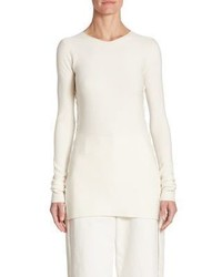 The Row Edal Wool Top