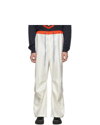 Landlord White Colorful Cargo Pants