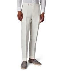Zanella Parker Solid Wool Trousers