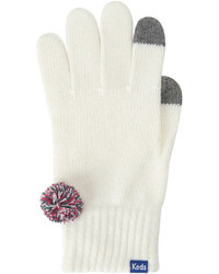 Keds Cable Knit Tech Gloves