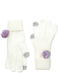 Keds Knit Gloves With Pom