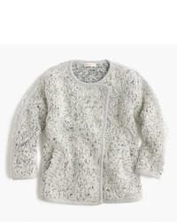 J.Crew Girls Fuzzy Sweater Jacket