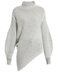 Stella McCartney Balloon Sleeved Wool Blend Sweater