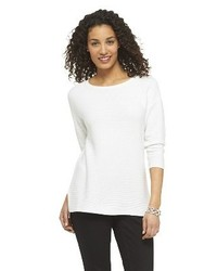 Merona Textured Tunic Pullover Sweater