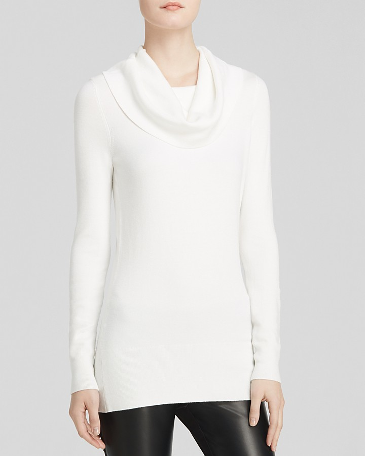 French Connection Sweater Bambi Solid Tunic Cowl | Where to buy ...