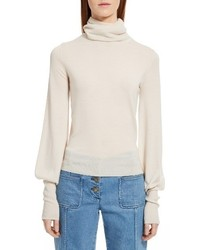 Chloe wool turtleneck sweater medium 3686408