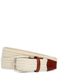 Brooks brothers cotton woven belt medium 15841