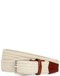 Brooks brothers cotton woven belt medium 28602