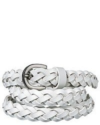 Mossimo Supply Co Woven Braided Belt White