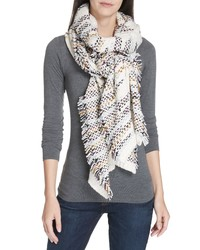 Eileen Fisher Woven Organic Cotton Scarf