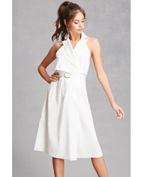Forever 21 Notched Halter Wrap Dress